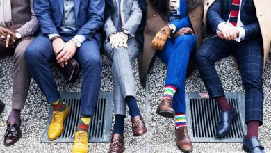 men trendy socks