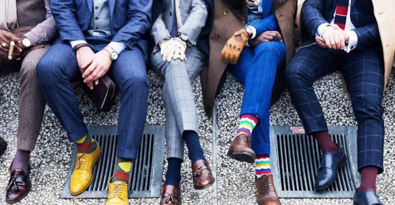 men trendy socks